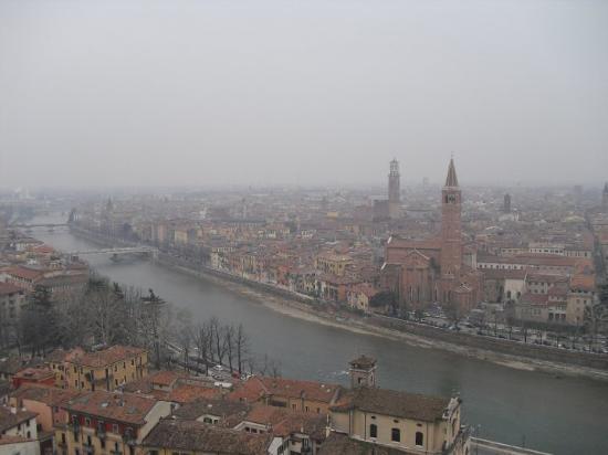 Verona'ya kus bakisi ...