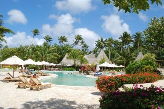 Bora Bora, Fransk Polynesia: Pool!!!
