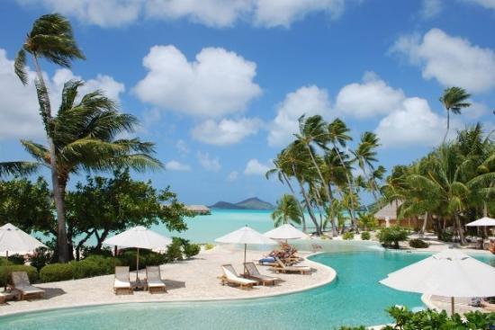 Poolside- Bora Bora