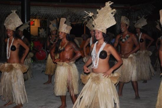 Moorea, Fransk Polynesia: Polynesian show
