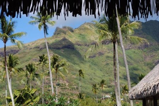 Moorea, Fransk Polynesia: the islands were mountainous!