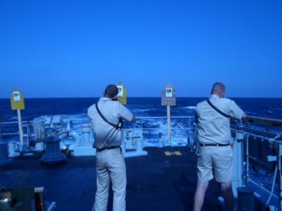 Limassol, Kypros: skydetræning i middelhavet