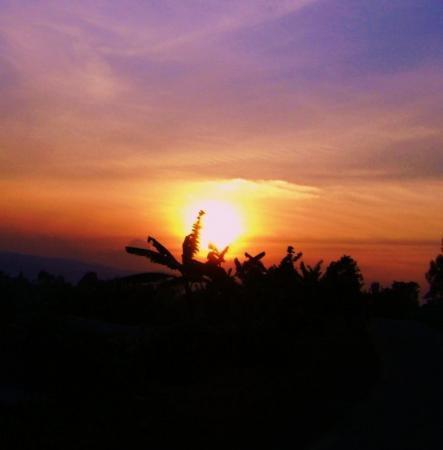 Kibuye, Rwanda: Sunset in Rwanda