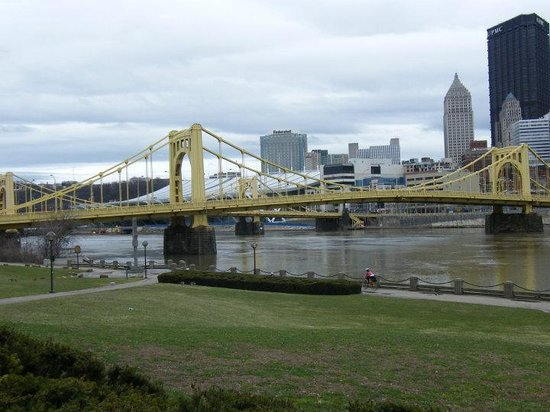 Pittsburgh, PA: From the South shore