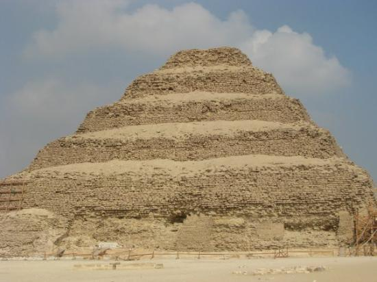 Step Pyramid of Djoser: Step Pyramid at Saqqara