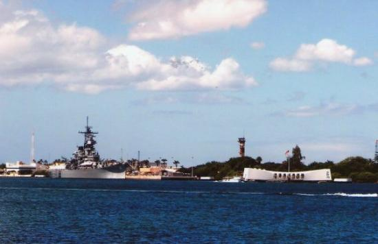 Bilde fra Pearl Harbor
