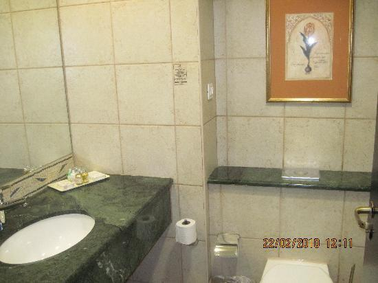 Daniel Dead Sea Hotel: Bathroom