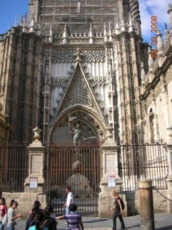 Bilde fra Katedralen i Sevilla