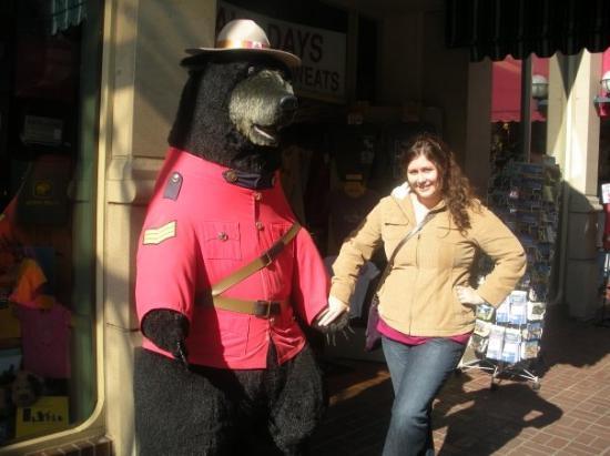 Victoria, Canada: My new boyfriend!  hahahaha