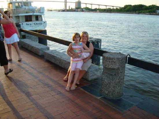 Savannah, GA: me and kenzie