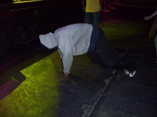 Boulder, CO: The breakdancing dude at The Fox.