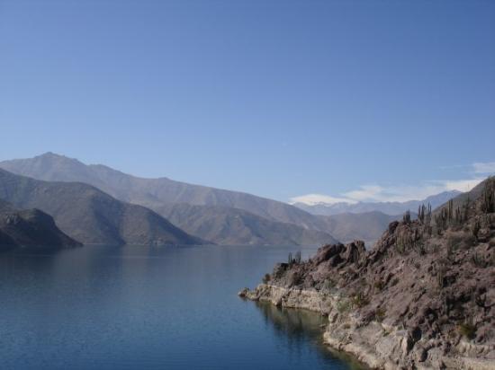La Serena, Chile: Vista desde la represa.. ta muu wena me encanta esta foto