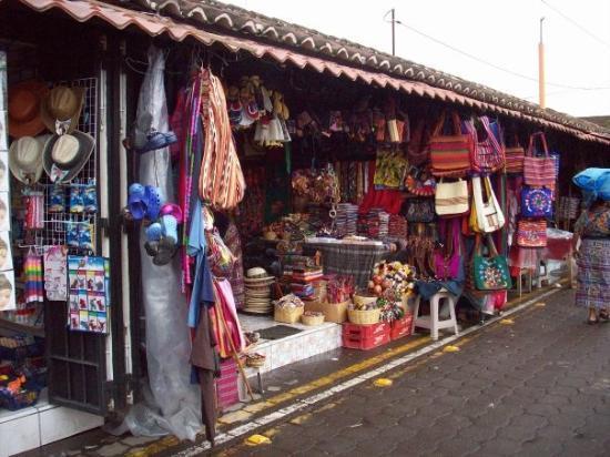 Antigua, Guatemala: the market
