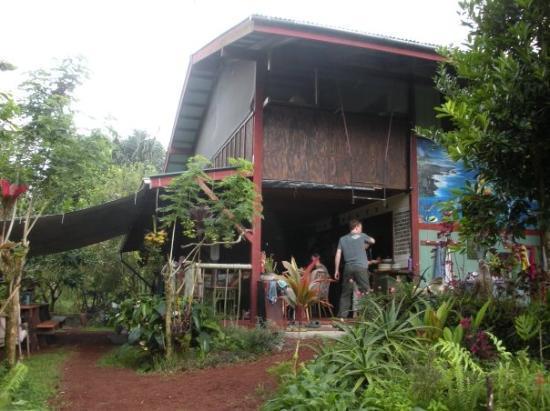 Hilo, HI: The main house at La'akea