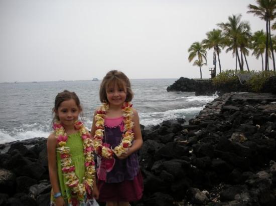 Kailua-Kona, HI: At the luau.
