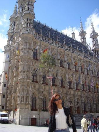 the town hall...just beautiful!!  leuven, belgium