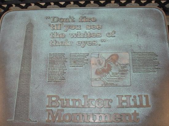 Bilde fra Bunker Hill