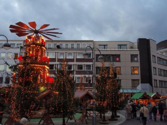Bochum, Tyskland: Weihnachtsmarkt