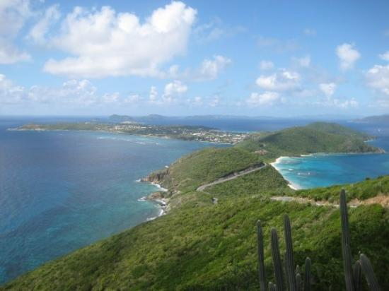 Virgin Gorda: view from Gorda peak..