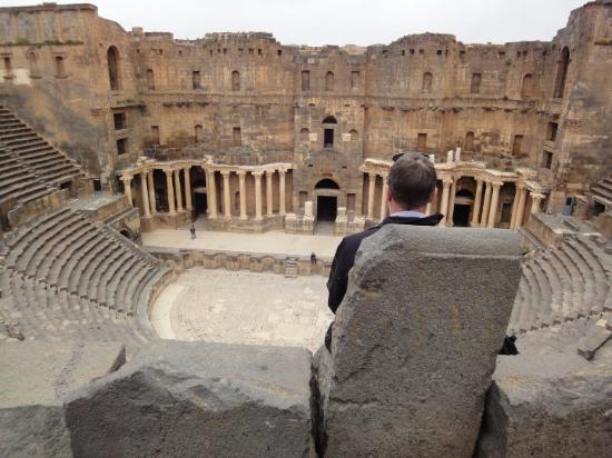 Bosra, Syria: Busra, south in Syria.  2010.