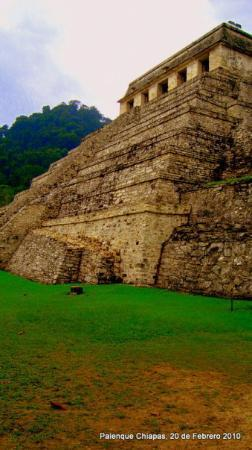 Palenque, Mexico: Templo de las Inscripciones, Tumba del Rey Pakal