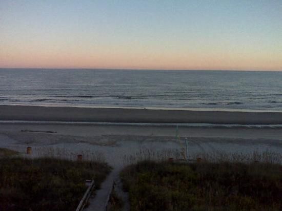Isle of Palms, SC: From my balcony