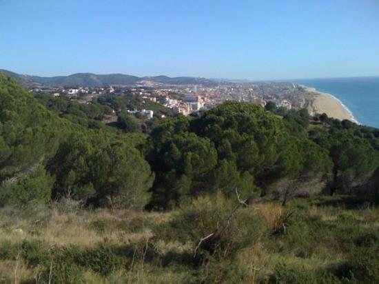 Calella, Spania: Des de les Torretes