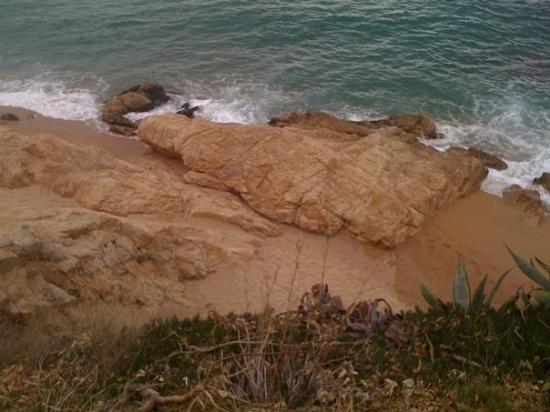 Calella, Spania: Les roques