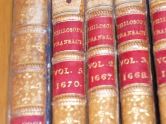 Pope's library at Castel Gandolfo.