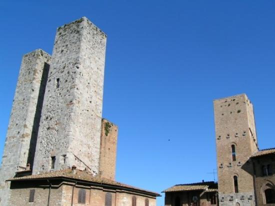 San Gimignano, Italia: San Giminiano - 2005
