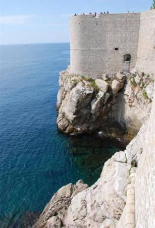 Antikke bymurer: Dubrovnik