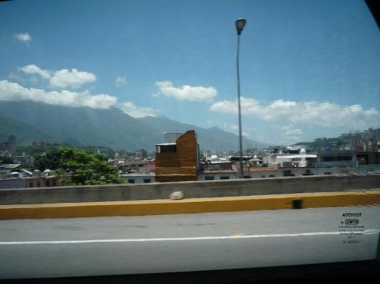 Vista del sector El Cementerio Caracas