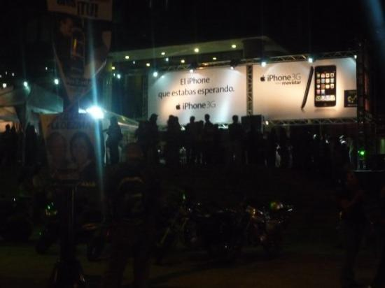 Inauguración del iPhone en Venezuela Caracas