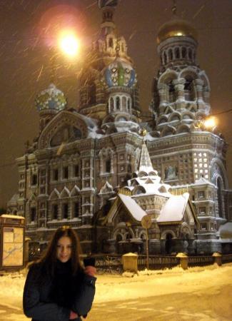 Bilde fra Oppstandelseskirken i St. Petersburg