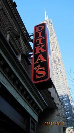 Ditka's Restaurant: Eat here!!! The best food and service we had  in Chicago. Mike Ditka's