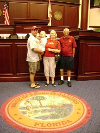 Tallahassee, FL: On the floor of the Florida House April 2008