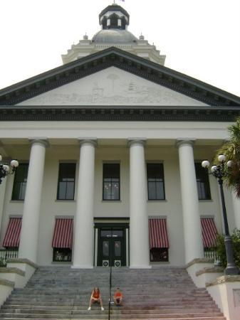 Tallahassee, Floride : Kalee & Ryan visit the Historic Florida Capitol