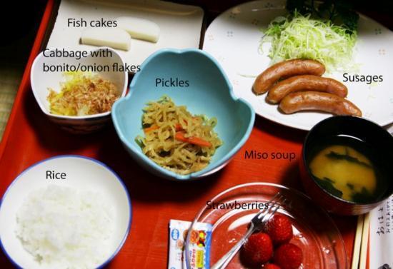 Homeikan Morikawa Annex: Vår frukost på Morikawa