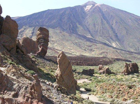 Tenerife teide y las rocas de los billetes de pts for Las rocas tenerife