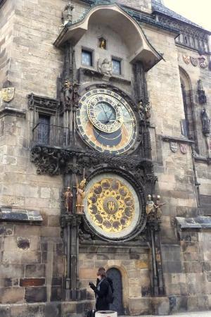 Gamlebyens rådhus med det astronomiske uret: República Checa -  Praga Reloj Astronómico