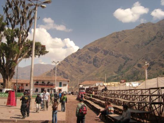 Bilde fra Ollantaytambo