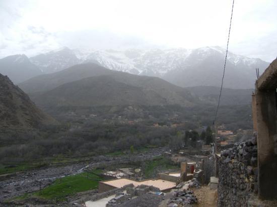 Bilde fra Imlil