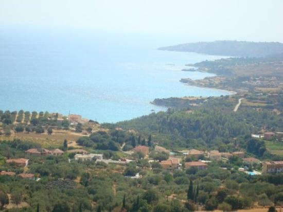 Kefallinia, Hellas: Vi fann härliga stränder runt ön.