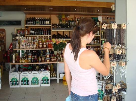 Kefallinia, Hellas: Malin shoppar