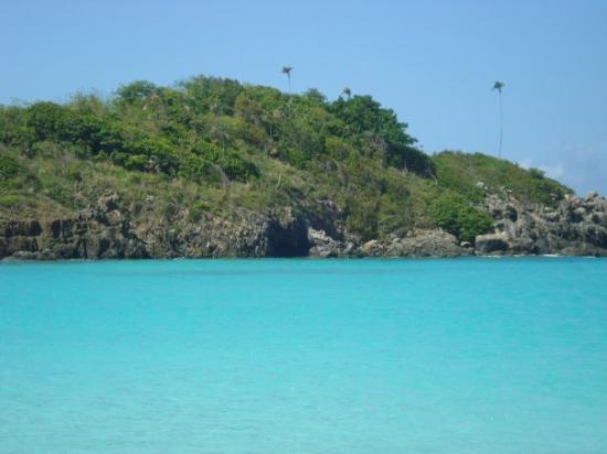 St. John: Trunk Bay, una de las 10 mejores playas del mundo!! Impresionantemente bella!!!