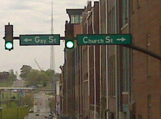 Funny in downtown nashville.