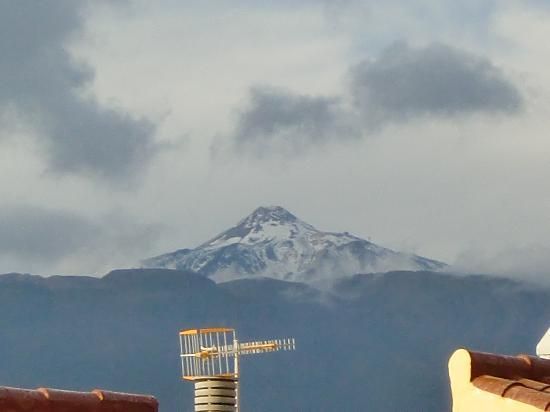 Marino Tenerife: View of mountain from room