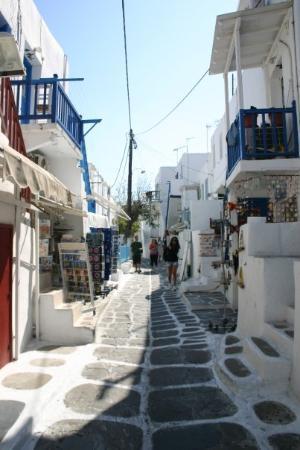 Mykonos by, Hellas: Shopping in Mykonos