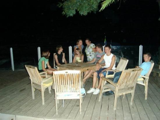 Saint-Tropez, Frankrike: the gang. well, most of us. i miss you all. :'(