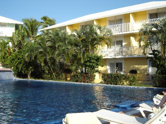 Excellence Punta Cana: Building 4 where our room was located by the Cascade Pool.